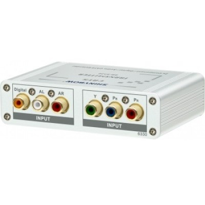 SB-6330 4Way Component Video•Digital•Audio Transmitter