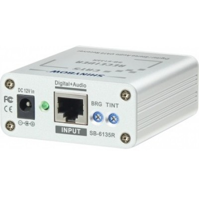 SB-6135R Composite Video•Digital•Audio Receiver