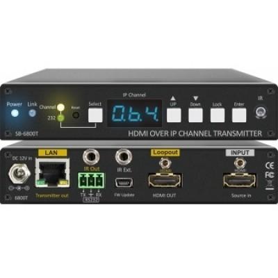 SB-6800T   SB-6800R HDMI Over IP Extender