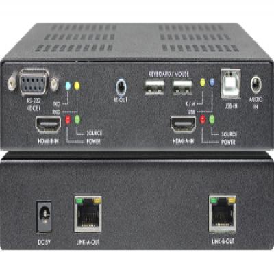 SB-6182T SB-6182R DUAL-HEAD HDMI KVM with Audio CAT.6 Extender