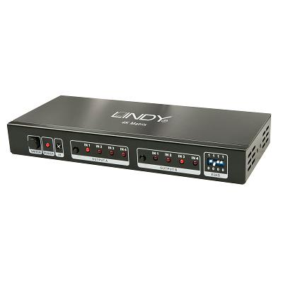 LINDY 38049 - 4x2 HDMI 2.0 10.2G Matrix Switch