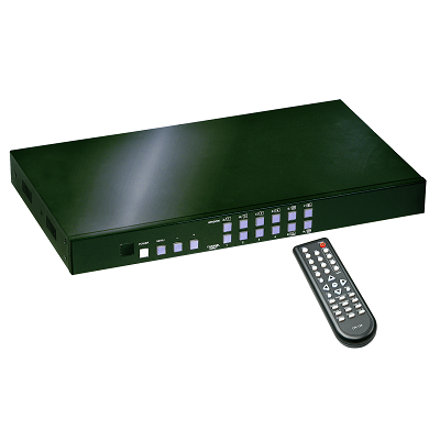 LINDY 38130 - 4 Port HDMI Processor Switch with PiP