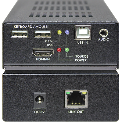 SB-6180T-SB-6180R KVM with Audio CAT.6 Extender