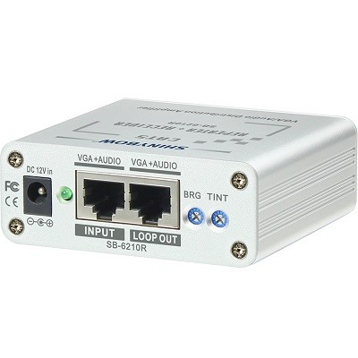 SB-6210R 2Way VGA-Audio Receiver