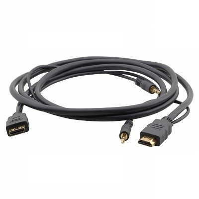 Flexible High−Speed HDMI Cable with Ethernet & 3.5mm Stereo Audio Kramer C-MHMA-MHMA