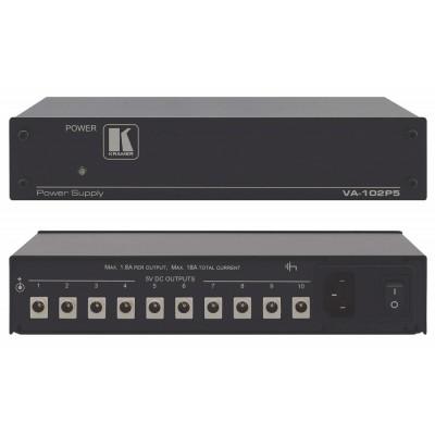 10–Output 5V DC Power Supply Kramer VA-102P5