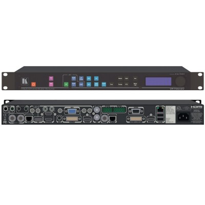 Presentation Switcher/Scaler with Fast Switching, Genlock, Streaming Input & Videowall Scaling VP-798ASV