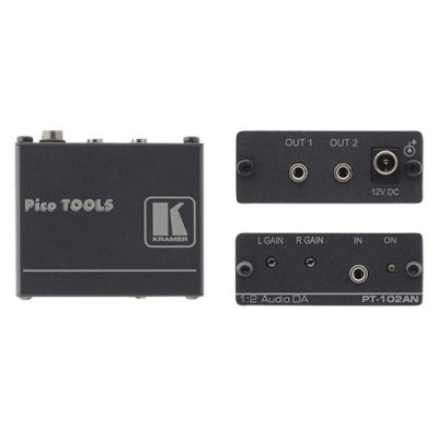 Bộ chia 1-2 và khuếch đại AV audio Kramer PT-102AN