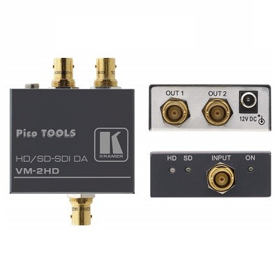 Bộ chia và khuếch đại HD-SDI 1:2 Kramer VM-2HD
